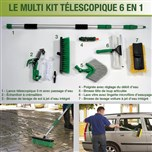 Multi Kit Télescopique 6 en 1